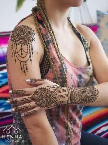 Henna Crowns, Prenatal Henna and Full Body Mehndi