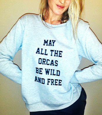 May All the Orcas be Wild & Free {Hanes}