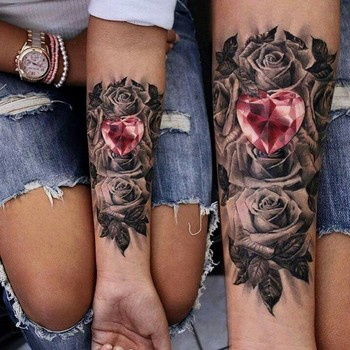 I know it isnt nails, hair or makeup. But i though this tattoo was really cool