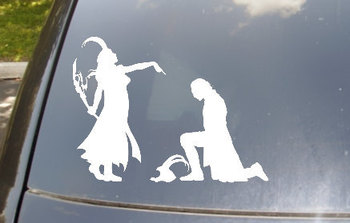 Dominant Female Loki Car Decal by EpicFamilyDecals on Etsy <--- OMG I WANT IT! GIVE IT TO MEEEEEEEEE