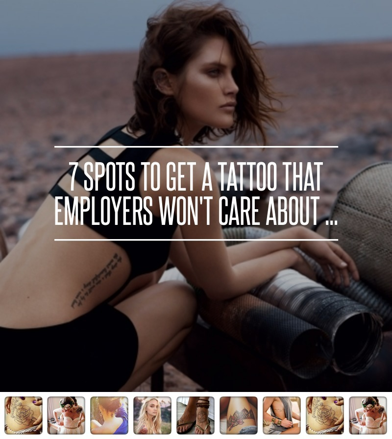 7 spots to get a tattoo that employers won t care about original