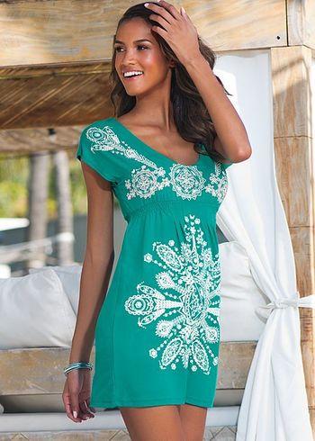 Henna print dress in the VENUS Line of Dresses for Women