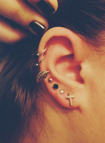 Piercings à l'oreille  - Le blog d'la petite Eva♥