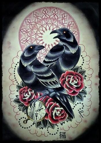 halloween tattoos | Neo Traditional Tattoo Flash