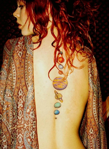 Tattoo Tuesday- Ink from Outer Space! | Girl Gone Geek