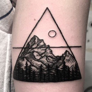 33 stunning landscape tattoos that will remind you of home original