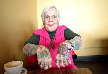 "24 Tattooed Seniors Answer The Question: ""What Will It Look Like In 40 Years?"""