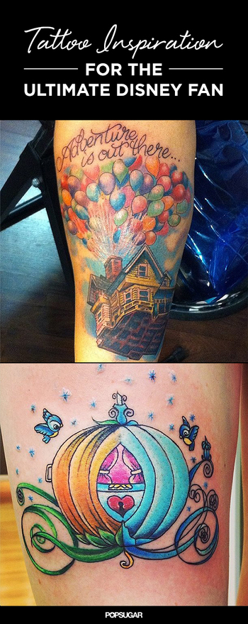 19 Disney-Inspired Tattoos That Are Pure Magic