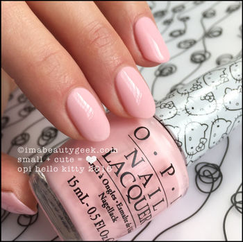 OPI HELLO KITTY: COMPLETE MANIGEEK GUIDE