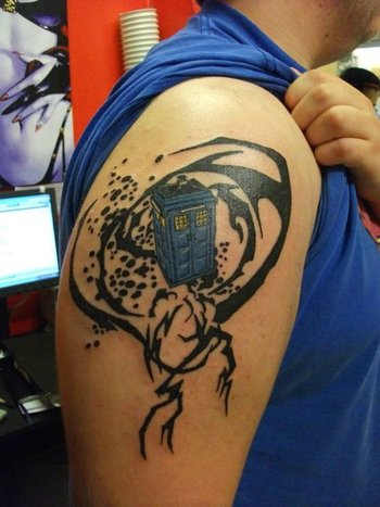 doctor who tattoo - Google Search