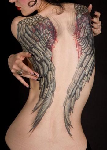 angel wings tattoo designs | Tattoo Design