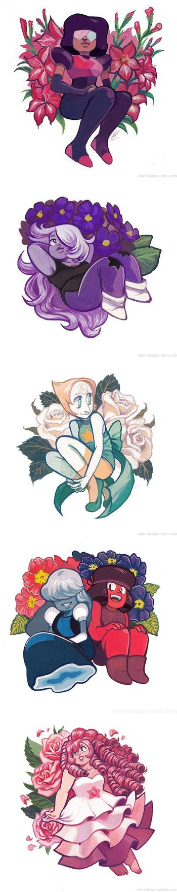 In Bloom - Crystal Gems | Steven Universe