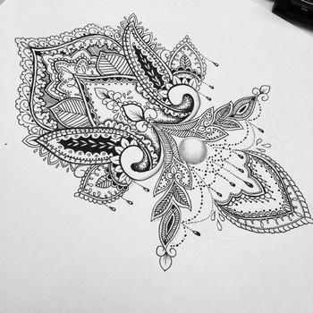 I want this mandala design on my wrist.
