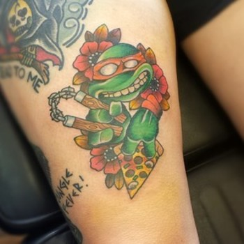 18 Incredible Tattoos Of Your Favorite Pop Culture Characters