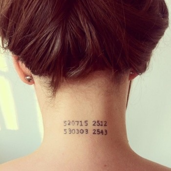 20+ Funny Number Tattoo Designs