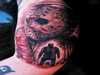12 Terrifying Jason Voorhees Tattoos