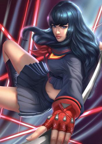 Satsuki- Ryuko uniform