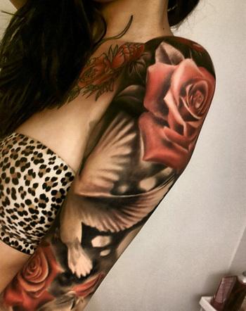 55 Peaceful Dove Tattoos   Cuded