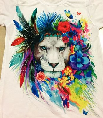 """Electro Threads on Instagram: """"Brand New """"King of Lions"""" design!!! What do you think??? www.ElectroThreads.com"""""""