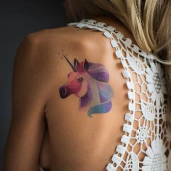 20 Unicorn Tattoos That'll Revive Your Imagination