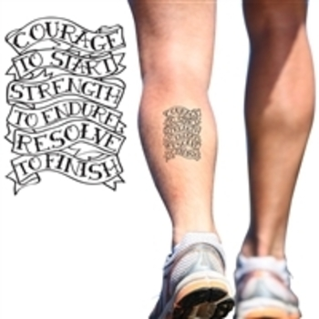 Running Temporary Tattoos