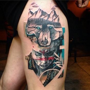 native american sleeve tattoos - Google Search