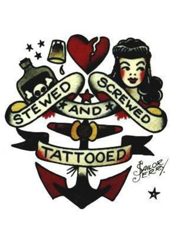 stewed screwed and tattooed - Google Search