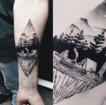campfire tattoo - Google Search