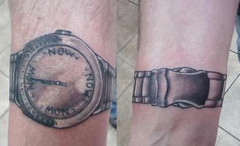 Wrist Watch Tattoo