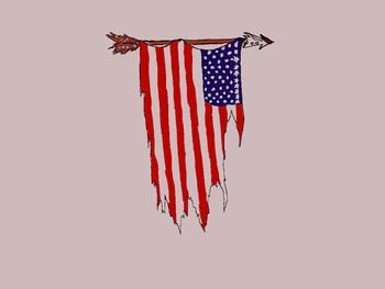 Old American Flag Tattoo  | kromis