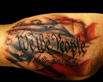 Top 10 American Flag Tattoo Design Ideas