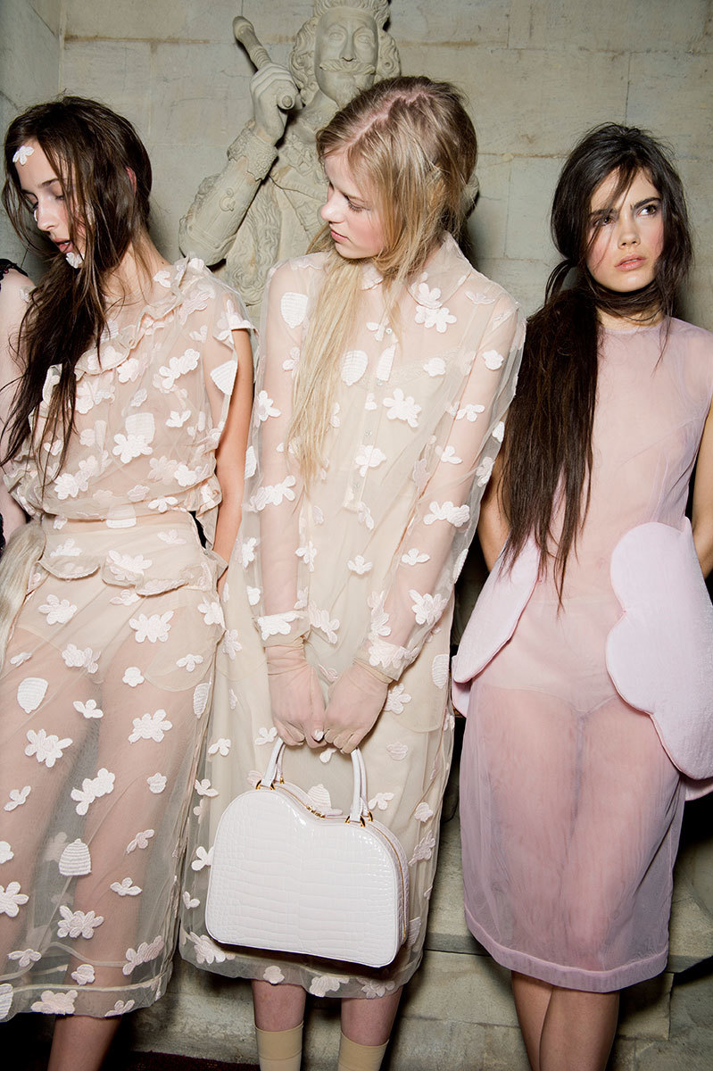 Simone rocha fall 2015 rtw backstage original