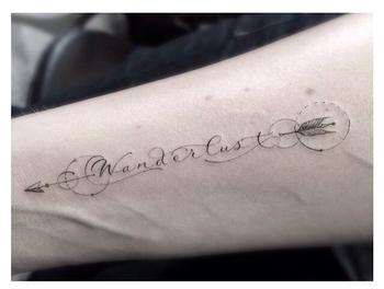 Wanderlust tattoo dr woo - WOW LOVE