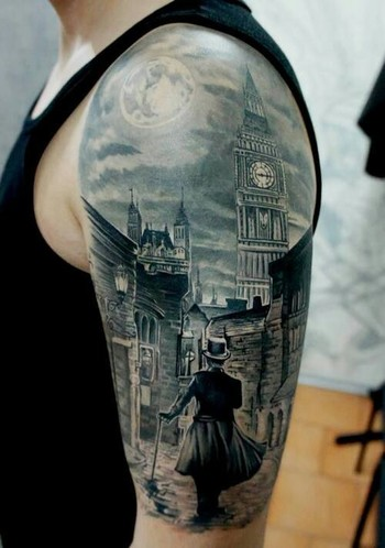 Epic Steampunk tattoo