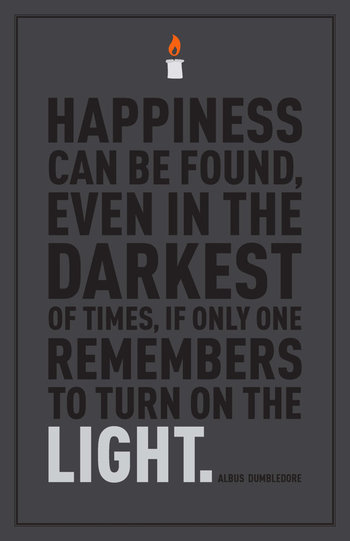 Harry Potter Dumbledore Quote 11x17 by malibu4 on Etsy, $8.00