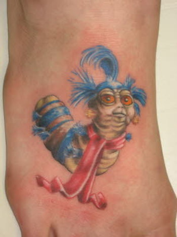 Labyrinth tattoo! I love that movie and grew up with it. So I've been thinking of getting a tattoo wi