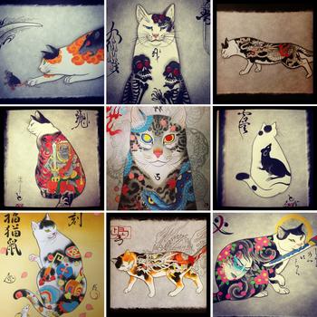 Los gatos tatuados de Horitomo