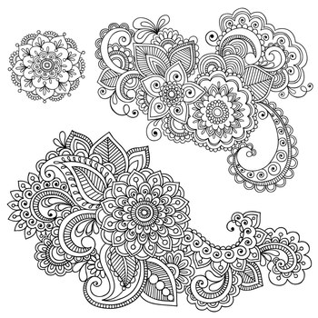Shery K Designs: Flourish Ornament Damask