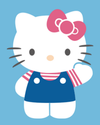 Meet this kind, cute and innocent Hello Kitty and her friends in this Wallpaper collection.