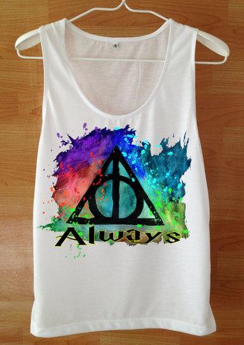 Always Tank Top Harry Potter Shirt Custom