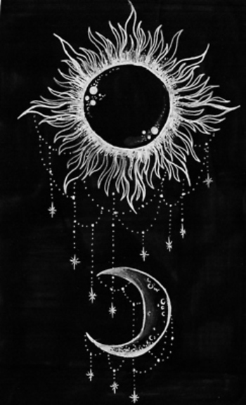 boho moon tattoos - Google Search