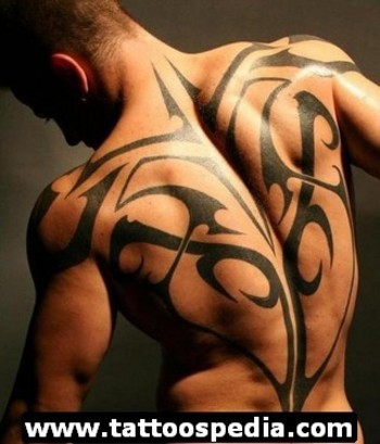 Back Tattoos For Men 2