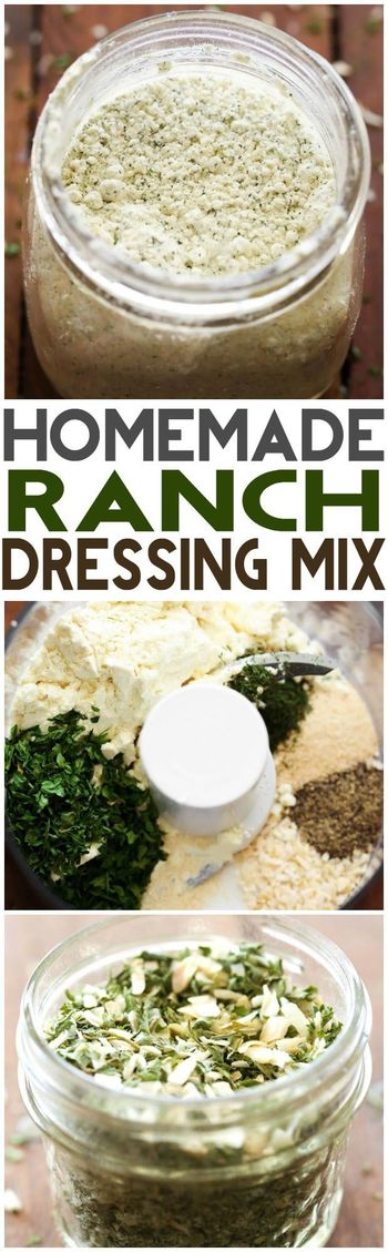 Homemade Ranch Dressing Mix | Chef in Training