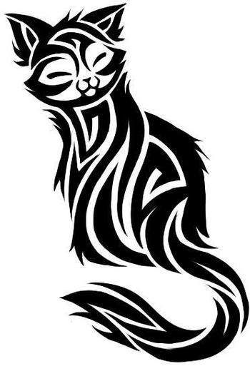 Cat Tattoo Designs - The Body is a Canvas
