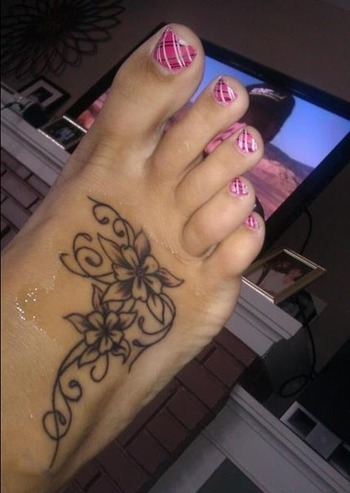 20+ Hot Foot Tattoo Ideas for Girls and Women | Tattoos Images