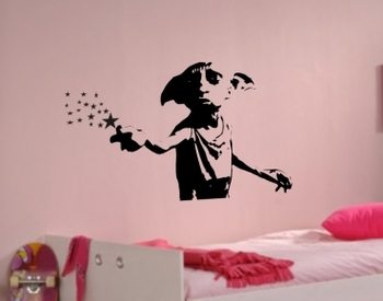 Possibly turn this into a cross stitch since apparently nobody that cross stitches likes Dobby...lol