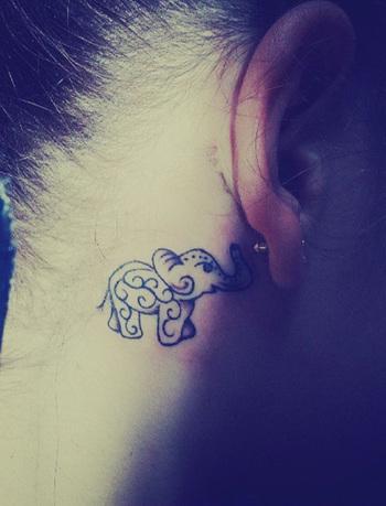 55 Elephant Tattoo Ideas | Cuded