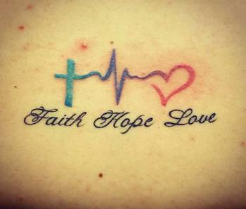 60 Heartwarming Christian Tattoo Designs and Ideas - TATTOOBLEND