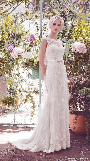 Snow By Annasul Y. 2016 Wedding Dresses   Wedding Inspirasi