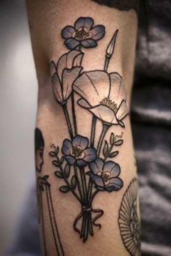 Wonderland Tattoos - Kirsten Holliday's tattoos from the 2015 Star of...
